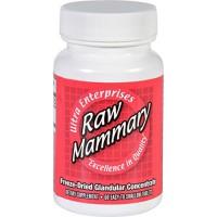 Ultra glandulars mammary raw - 60 ea