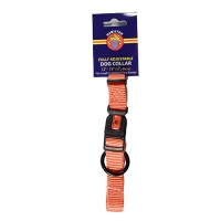 Hamilton Pet Company adjustable dog collar - 5/8 x 12-18 in, 6 ea