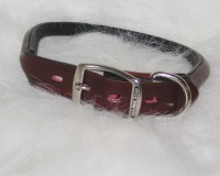 Hamilton Leather rolled leather collar - 1x24 in, 6 ea