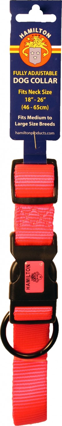 Hamilton Pet Company adjustable dog collar - large, 1 ea