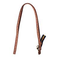 Hamilton Pet Company ribbon overlay 5/8 single thick lead - 6 ft, 1 ea