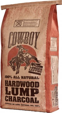 Duraflame, Inc. cowboy brand natural hardwood lump charcoal - 18 pound, 1 ea