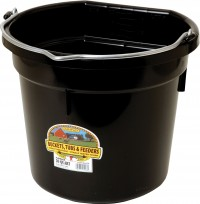 Miller Mfg Co Inc P little giant plastic flat back bucket - 20 quart, 12 ea