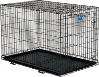 Midwest Container lifestages crate w/divider panel - 48x30x33 in, 1 ea