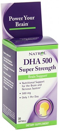 Natrol DHA 500mg super Strength,softgel - 30 ea