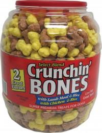 Triumph Pet Industries crunchin bones barrel - 30 oz, 2 ea