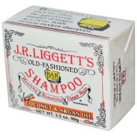 J.R. Liggett bar shampoo coconut and argan oil, virgin  -  3.5 oz