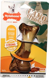 Tfh Publications/Nylabone strong chew camo bone - regular, 24 ea
