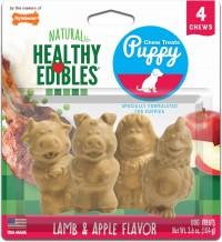 Tfh Publications/Nylabone healthy edibles puppy pals variety chew treat - 4 pack, 6 ea