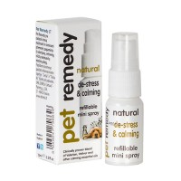 Pet remedy natural de stress and claming refillable pump spray - 1 ea