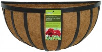 Panacea Products forge wall manger with coco liner - 16 inch, 5 ea
