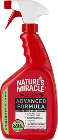 Nature'S Miracle nature's miracle cat advanced stain & odor remover - 32 ounce, 12 ea