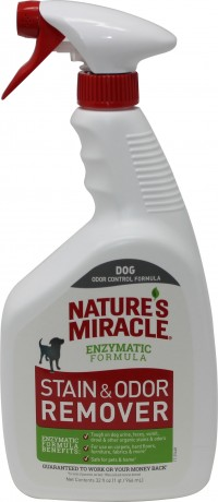 Nature'S Miracle nature's miracle stain & odor removr dog spray weg - 32 oz, 4 ea