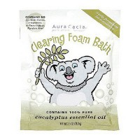 Aura Cacia aromatherapy clearing foam bath for kids - 2.5 oz, 6 pack