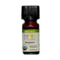Aura Cacia Aromatherapy 100% organic essential oil, Natural Bergamot - 0.25 oz