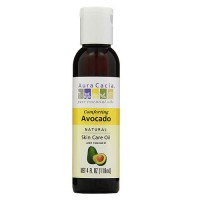 Aura Cacia pure aromatherapy natural skin care oil, Avocado - 4 oz