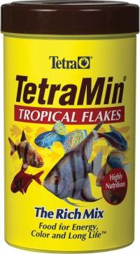 Tetra tetramin tropical large flake food - 5.65 ounce, 12 ea