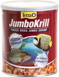 Tetra jumbokrill freeze dried jumbo shrimp - 3.5 ounce, 24 ea