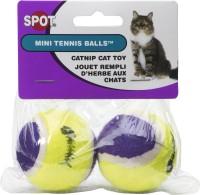 Ethical Cat mini tennis ball with bell & catnip - mini, 12 ea