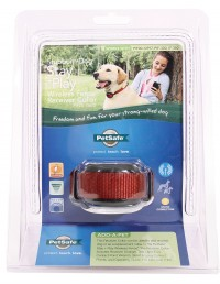 Petsafe - Electronics stubborn dog wireless fence receiver collar - 6-28 inches, 2 ea