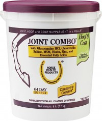 Farnam Co Horse Health joint combo hoof & coat supplement for horse joint - 8 pound, 4 ea