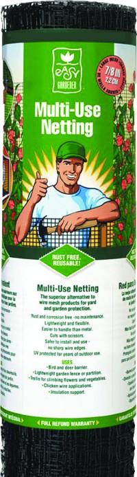 Jobes Company multi-use netting - 6x100 foot, 1 ea