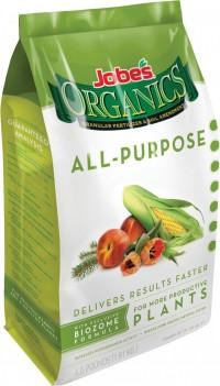Jobes Company jobe's organics all purpose granular fertilizer - 4 pound, 6 ea