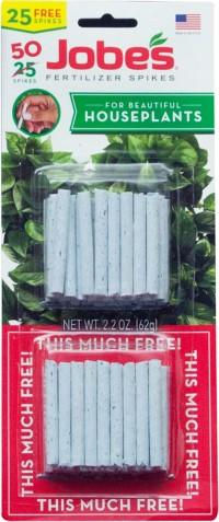Jobes Company jobe's houseplant spikes twin pack - 50 pack, 18 ea