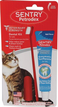 Sergeant'S Pet Specialty sentry petrodex dental care kit for cats - 2.5 ounce, 12 ea