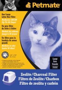 Petmate Inc zeolite filter - large, 12 ea