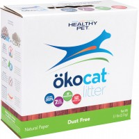 Healthy Pet - Litter okocat natural dust-free paper cat litter - 5.1 pound, 1 ea