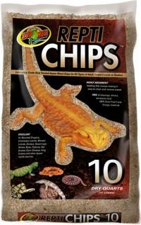 Zoo Med Laboratories Inc repti chips - 10 quart, 6 ea