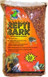 Zoo Med Laboratories Inc premium repti bark natural reptile bedding - 8 quart, 6 ea