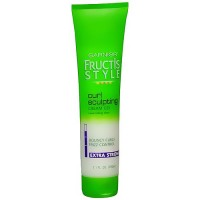 Garnier Fructis Style Curl Sculpting Hair Cream Gel, Extra Strong - 5 Oz