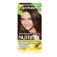 Garnier nutrisse nourishing hair color creme with fruit oil concentrates, #20 - 1 ea