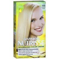 Garnier nutrisse permanent creme haircolor #100, light natural blonde - 1 ea