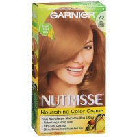 Garnier Nutrisse Permanent Creme Haircolor Dark Golden Blonde#73, 1 ea