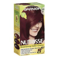 Garnier Nutrisse Permanent Creme Haircolor #66 True Red, 1 ea