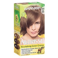 Garnier Nutrisse Permanent Creme Haircolor #63 Light Brown, 1 ea