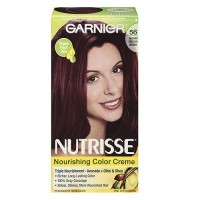 Garnier Nutrisse Permanent Creme Haircolor #56 Medium Reddish Brown, 1 ea