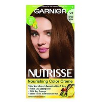 Garnier Nutrisse Permanent Creme Haircolor #53 Medium Golden Brown, 1 ea