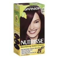 Garnier Nutrisse Permanent Creme Haircolor #42 Deep Burgundy, 1 ea