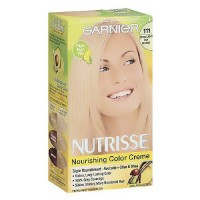Garnier Nutrisse nourishing color creme, 111 extra-light ash blonde, white chocolate - 12 ea