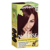 Garnier Nutrisse Permanent Creme Haircolor, Dark Reddish Brown - 1 Ea
