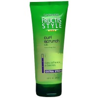 Garnier Fructis Style curl scrunch gel, Extra strong - 6.8 oz