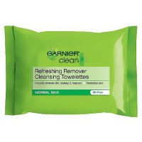 Garnier Clean Refreshing Cleansing Towelettes, Oil Free - 25 ea