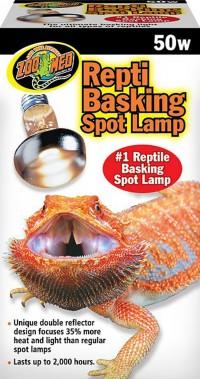 Zoo Med Laboratories Inc repti basking spot lamp - 50 watt, 72 ea