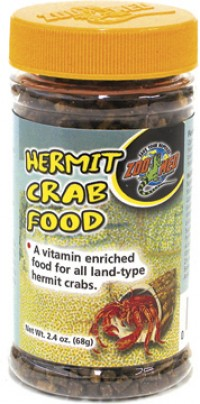 Zoo Med Laboratories Inc hermit crab food - 2.4 ounce, 144 ea
