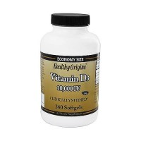 Healthy origins vitamin D3 10000 IU Softgels - 360 ea