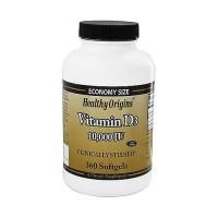 Healthy origins vitamin D3 10000 IU Softgels - 360 ea